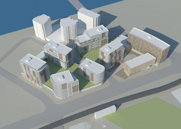 Mixed-Use Development No. 3 Road